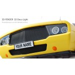 3D Muscle Car Light (Yellow) - Δώρα για παιδιά