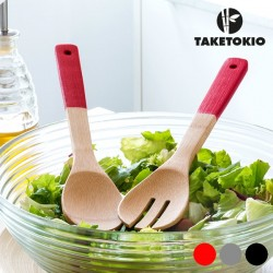 Bamboo Fork and Spoon - Κουτάλα και Πιρούνα από Bamboo