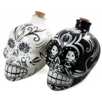 Day Of The Dead Decanter - [Black - White] - Dirty Thirty!