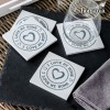 "I Love My Home by Homania Coasters (pack of 4) - Σουβέρ ""I Love My Home"" (4 τμχ.)"
