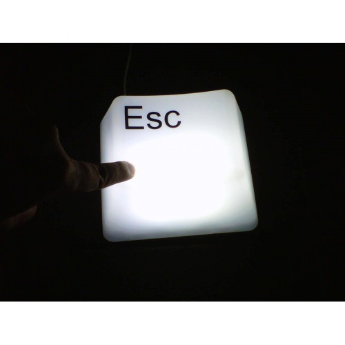 Keyboard LED Light - ESC - Διακόσμηση