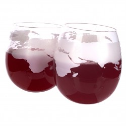 Mixology Globe Rocker Glasses Set of 2