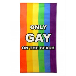 Πετσέτα Θαλάσσης - IGGI Only Gay On The Beach Towel