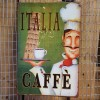 Ρετρό Πινακίδα Italia Cafe - Retro sign Italia Cafe