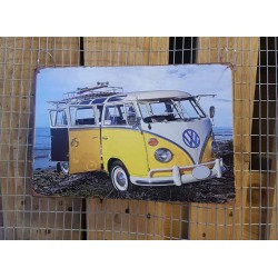 Ρετρό Πινακίδα Mini Van - Retro sign Mini Van