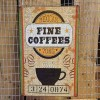Ρετρό Πινακίδα Fine Coffees - Retro sign Fine coffees