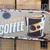 Ρετρό Πινακίδα Take away coffee - Retro sign Take away coffee