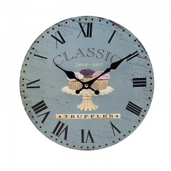 "Ρολόι τοίχου antique style ""Truffles"" - Vintage Wall Clock ""Truffles"""