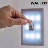 WalLED Light with Switch - Portable - Wal-LED φορητή λάμπα με διακόπτη